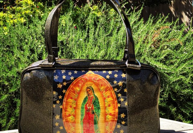 Black Guadalupe Business Bag